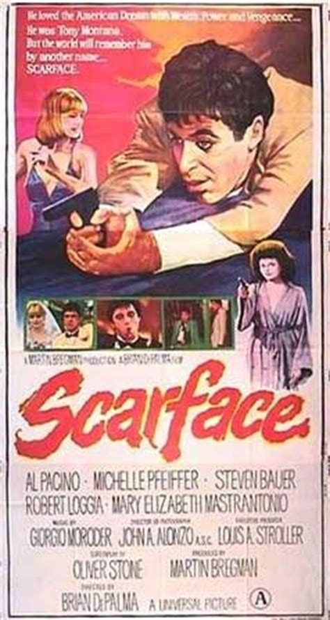 Scarface Movie Poster (#7 of 8) - IMP Awards