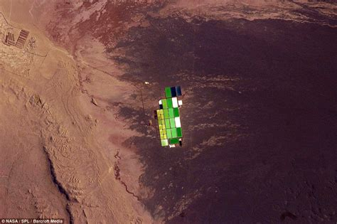 Nature's bounty: Amazing satellite images show how man has