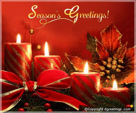 Season's Greetings Messages, Season's Greetings Wishes