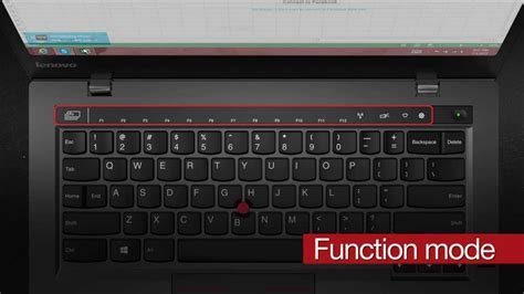 The New X1 Carbon: Change Adaptive Key modes by