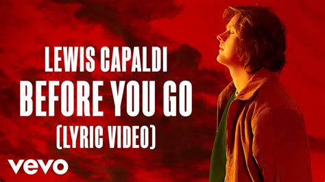 Lewis Capaldi - Before you go Chords