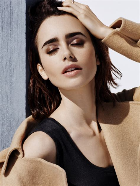 Lily Collins in Lancôme Campaign : ランコムの顔のリリー・コリンズ