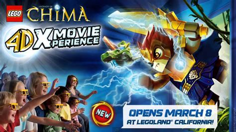 News: LEGO Chima 4D Movie Experience Coming To LEGOLAND