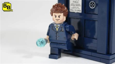 LEGO DOCTOR WHO 10TH DOCTOR MINIFIGURE CREATION - YouTube