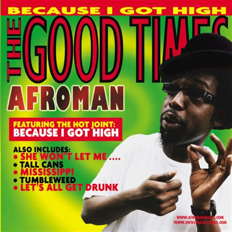 Because I Got High by Afroman | Free Listening on SoundCloud