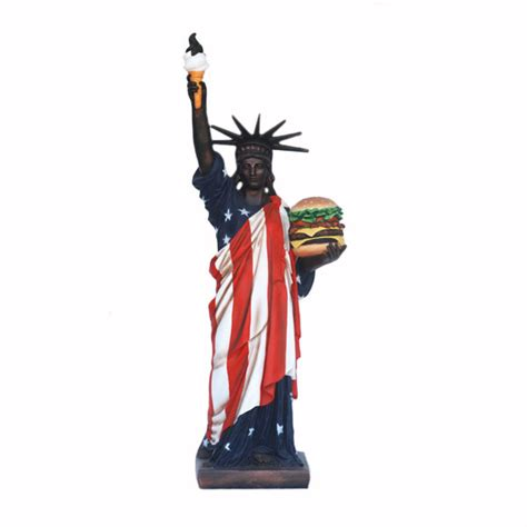 Statue of Liberty with Hamburger (5 Ft