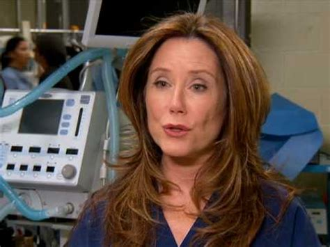 Grey's Anatomy Mary McDonnell Featurette - YouTube