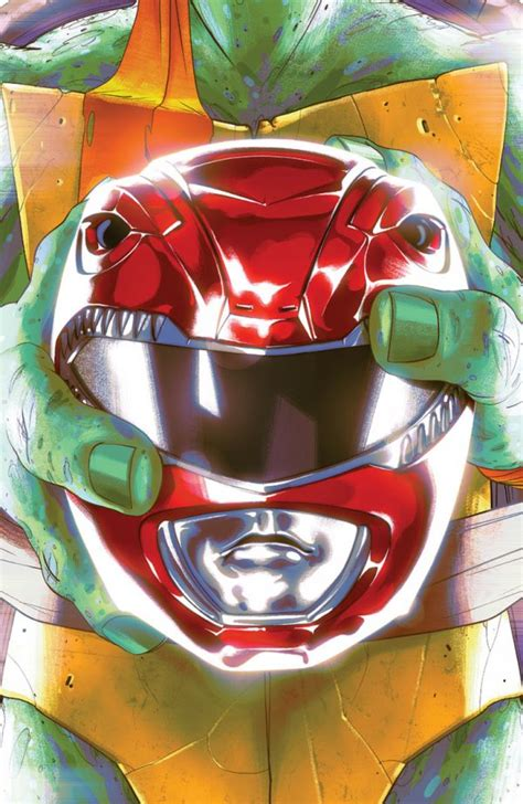 Comic Book Preview - Mighty Morphin Power Rangers/Teenage