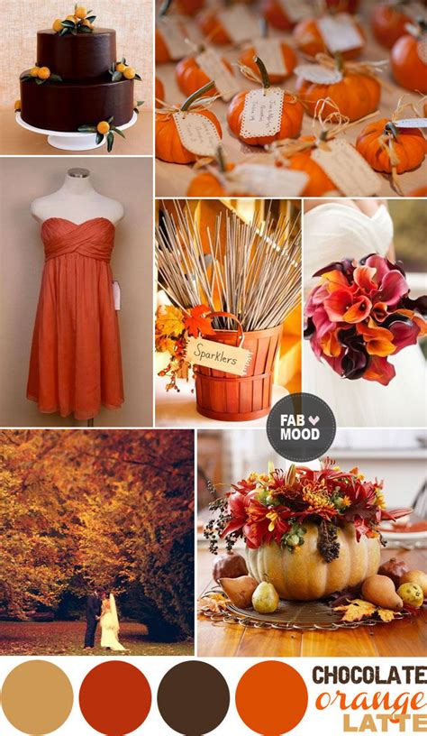 Autumn Wedding Color Palette Pictures, Photos, and Images